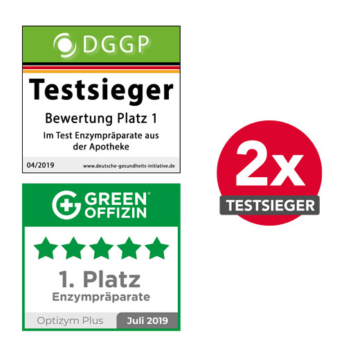 Optizym Enzyme Testsieger
