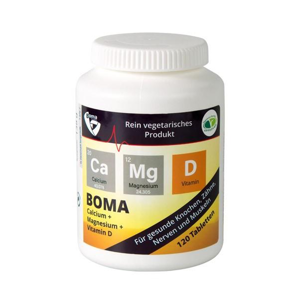 BOMA-Lecithin Calcium + Magnesium + Vitamin D - 120 Tabletten