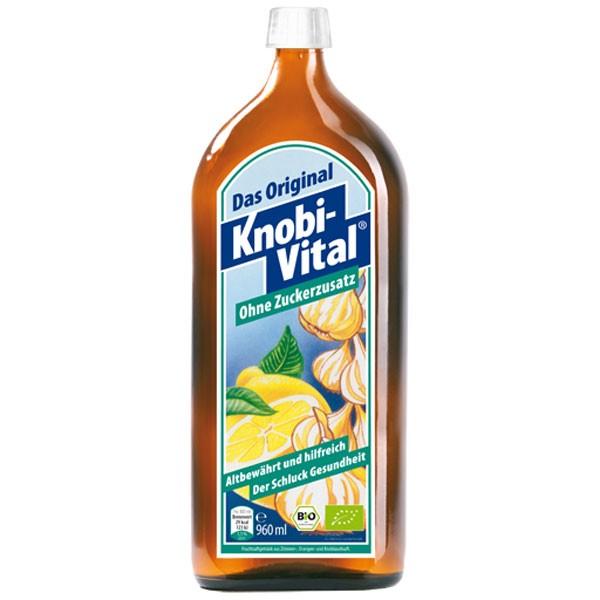 KnobiVital ohne Zuckerzusatz - 960 ml