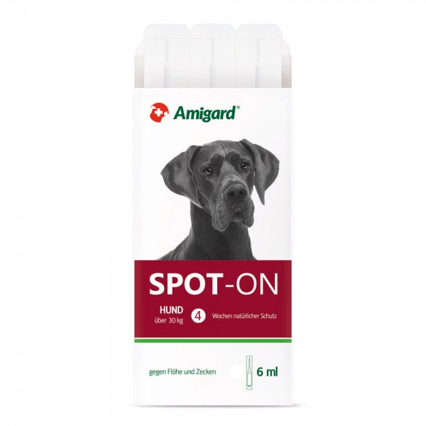 Amigard Spot on Hund über 30 kg - 3 x 6 ml