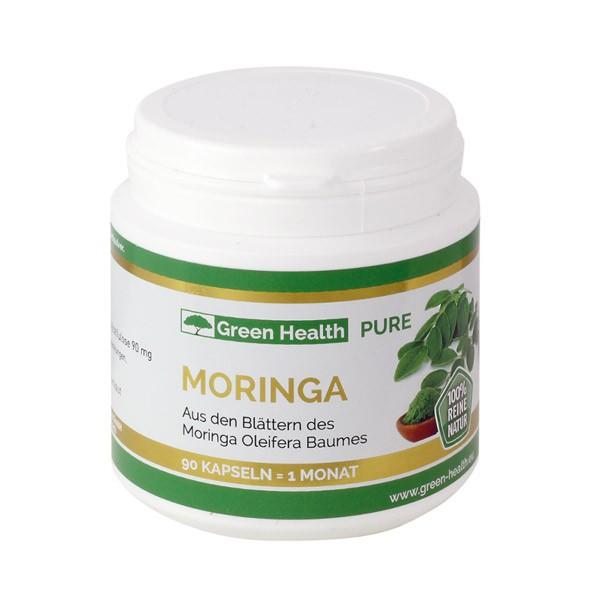 Green Health Pure Moringa - 90 Kapseln
