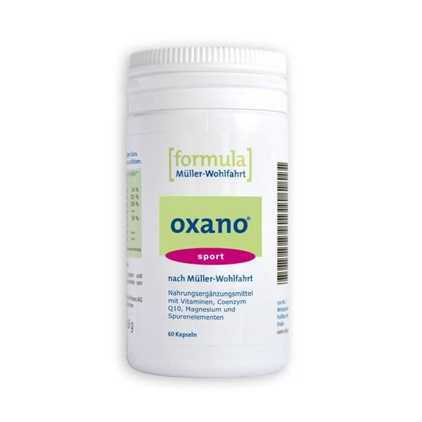 oxano® sport nach Müller-Wohlfahrt - 60 Kapseln