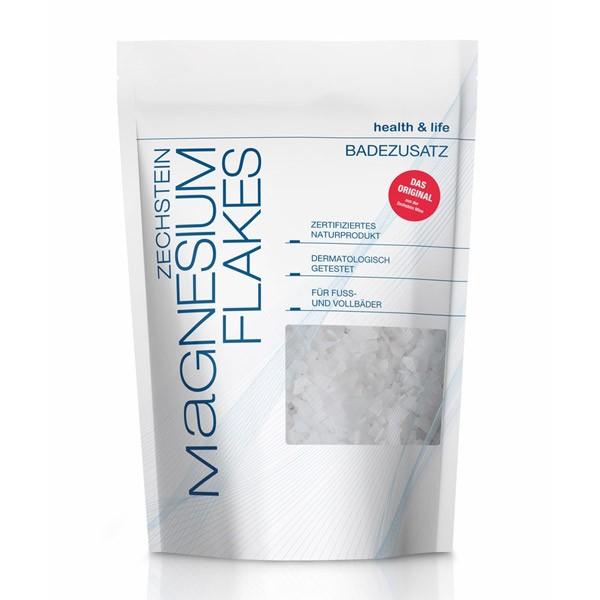 Zechstein Magnesium Flakes - 500g Beutel