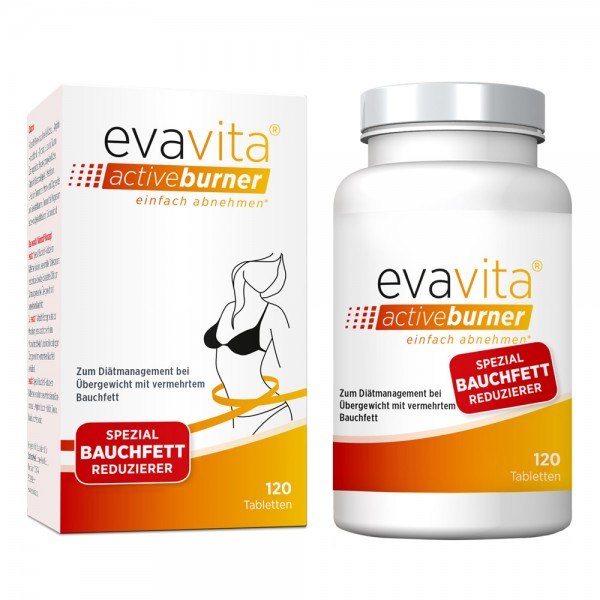 evavita - Bauchfett Reduzierer 120 Tabletten