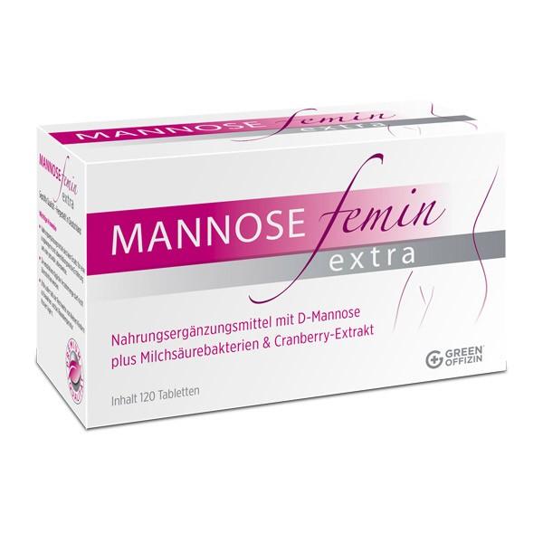 Mannose Femin Extra - 120 Tabletten