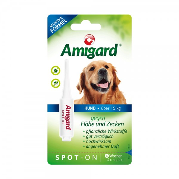 Amigard Spot on Hund über 15 kg - 4 ml