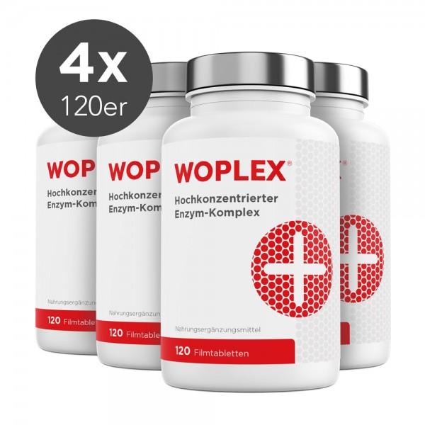 Woplex Enzym-Komplex - 480 Filmtabletten