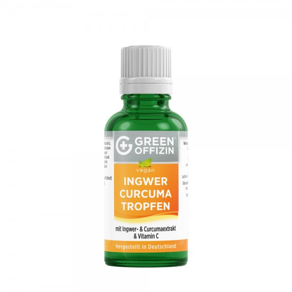 Green Offizin - Bio Ingwer-Curcuma Tropfen 50 ml