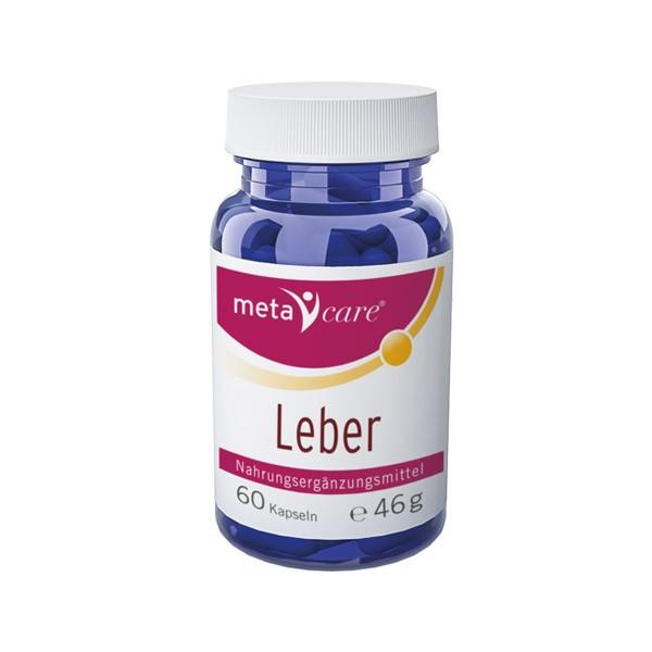 metacare Leber - 60 Kapseln