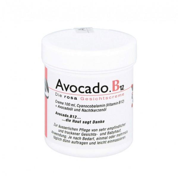 Avocado B12 Gesichtscreme - 100 ml