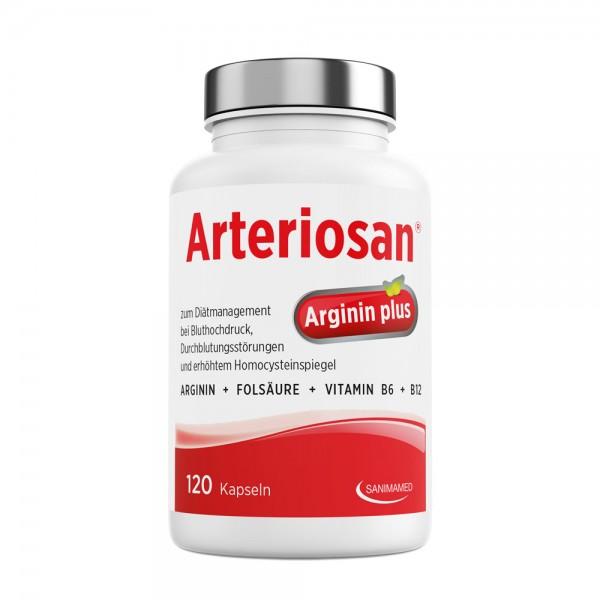 Arteriosan Arginin Plus - 120 Kapseln