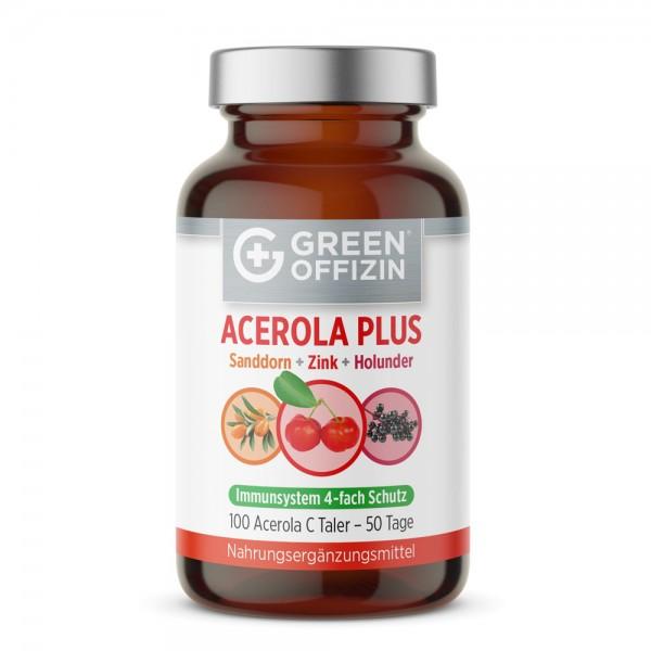 Green Offizin Acerola Plus Taler - 100 Tabs