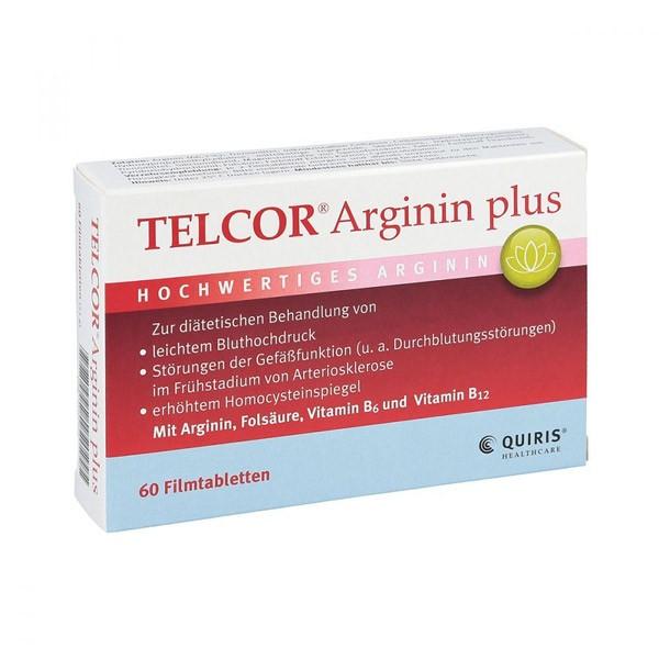 Telcor® Arginin Plus - 60 Tabletten