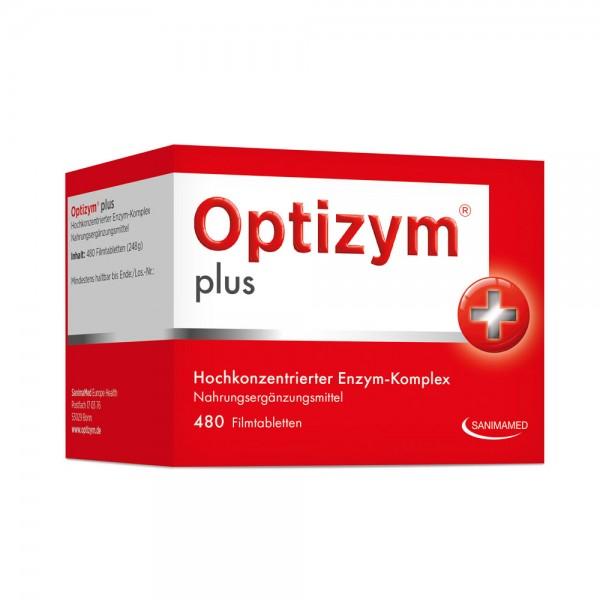 Optizym plus Enzym-Komplex - 480 Filmtabletten