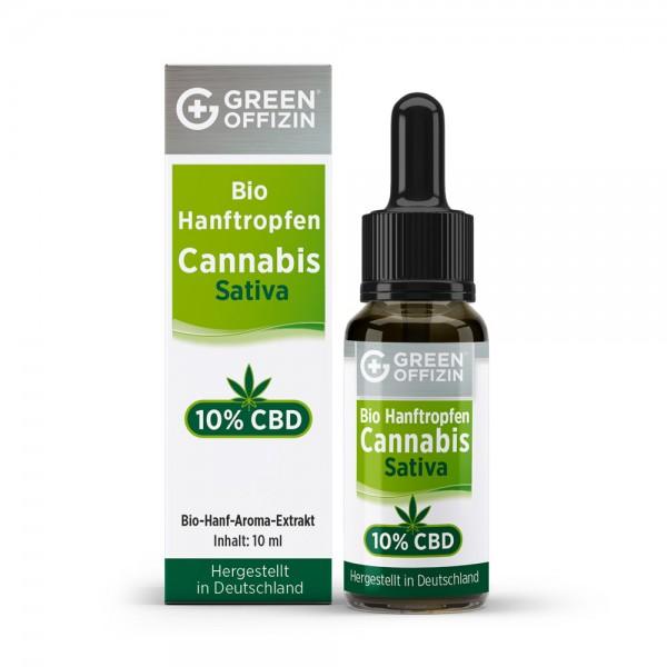 BIO Hanftropfen10%CBD Vollspektrum -10 ml
