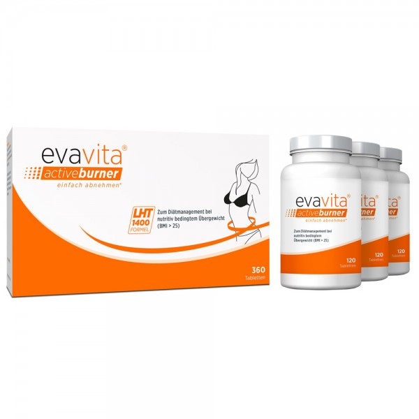 evavita - activeburner 360 Tabletten