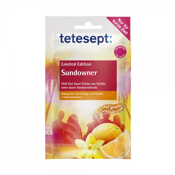 tetesept® Sundowner Badeperlen Limited Edition - 60g Pulver