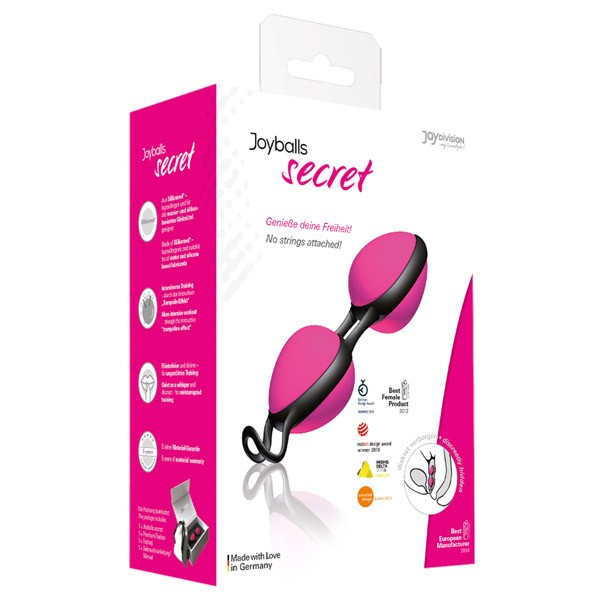 JOYDIVISION Joyballs secret pink-schwarz