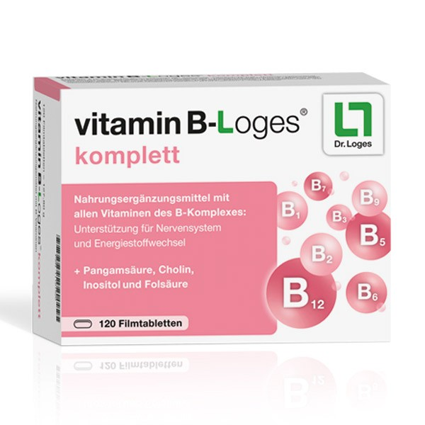 vitamin B-Loges® komplett - 120 Tabletten