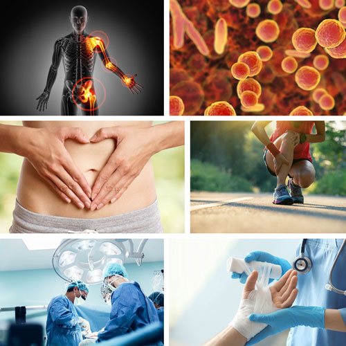 Enzyme bei Entzündungen und Schmerzen