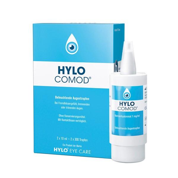 HYLO COMOD® Augentropfen - 2x10 ml