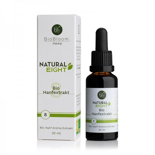 BioBloom 8% Bio CBD Hanfextrakt NaturalEIGHT - 30ml