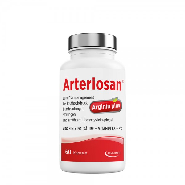 Arteriosan Arginin Plus - 60 Kapseln