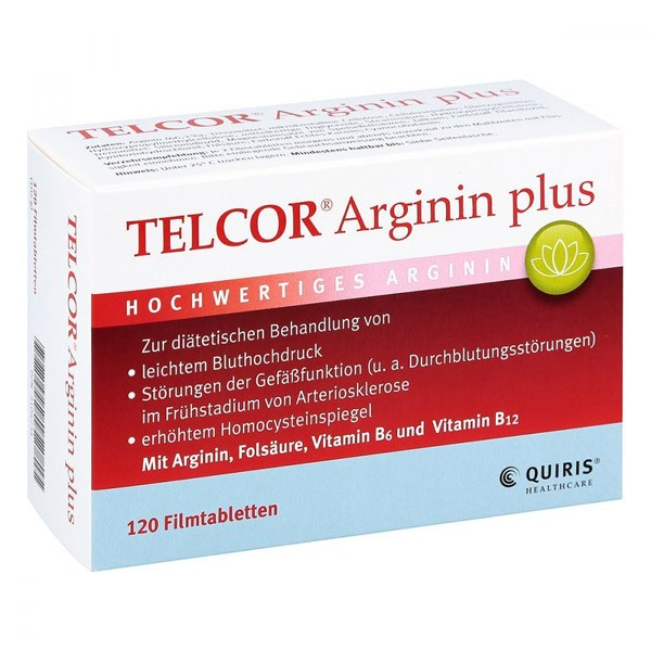 Telcor® Arginin Plus - 120 Tabletten