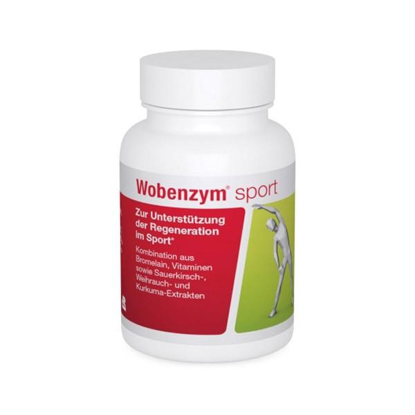 Wobenzym® sport magensaftresistente Kapseln - 30 Stck.
