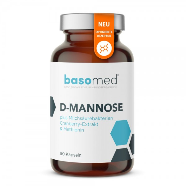 Basomed D-Mannose - 90 Kapseln