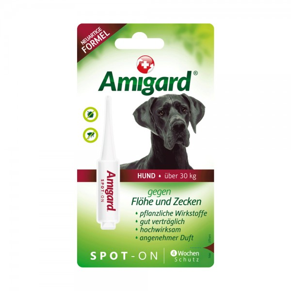 Amigard Spot on Hund über 30 kg - 6 ml