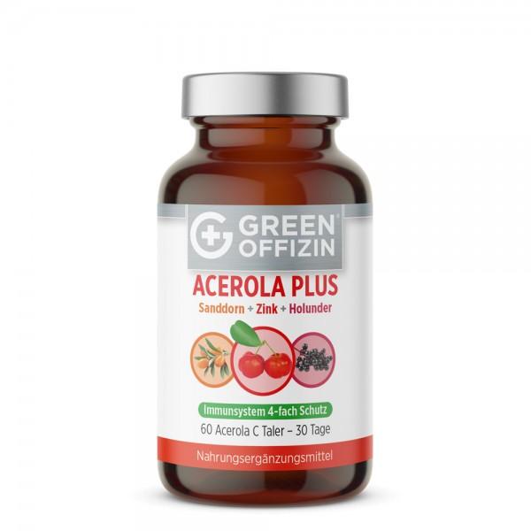 Green Offizin Acerola Plus Taler - 60 Tabs