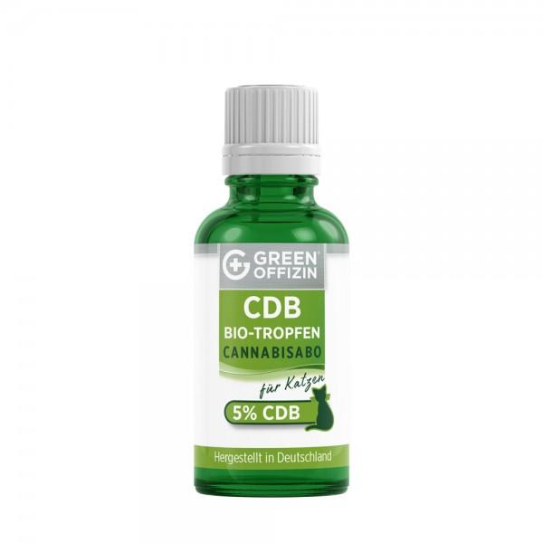 Green Offizin - CDB Bio Tropfen 5% für Katzen - 50ml