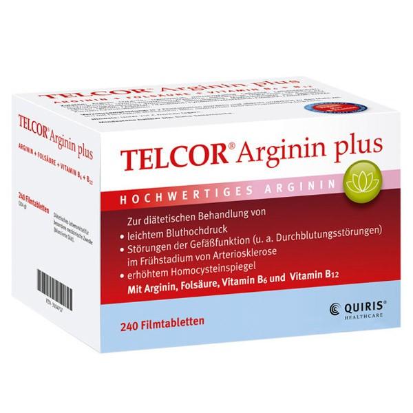 Telcor® Arginin Plus - 240 Tabletten